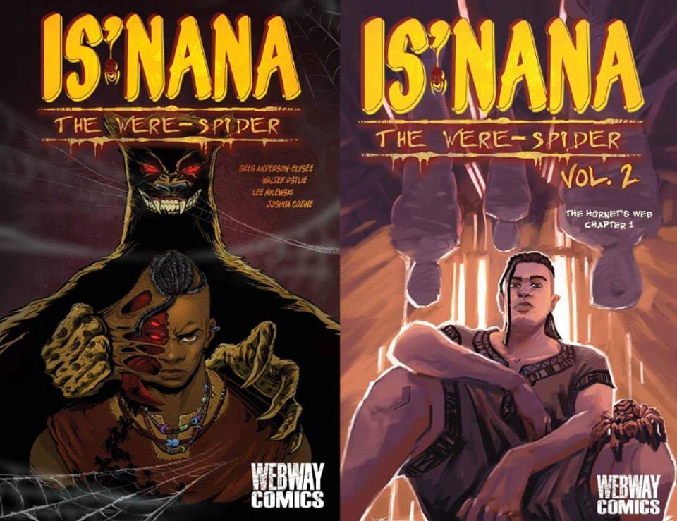 is'nana were spider comic book