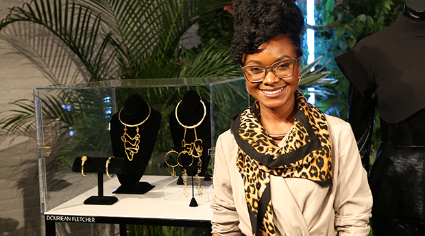 the feat douriean fletcher black panther jewelry