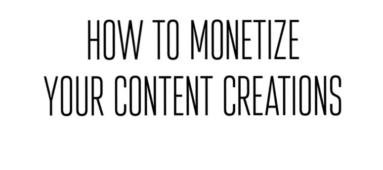 how to monetize your blog podcast youtube