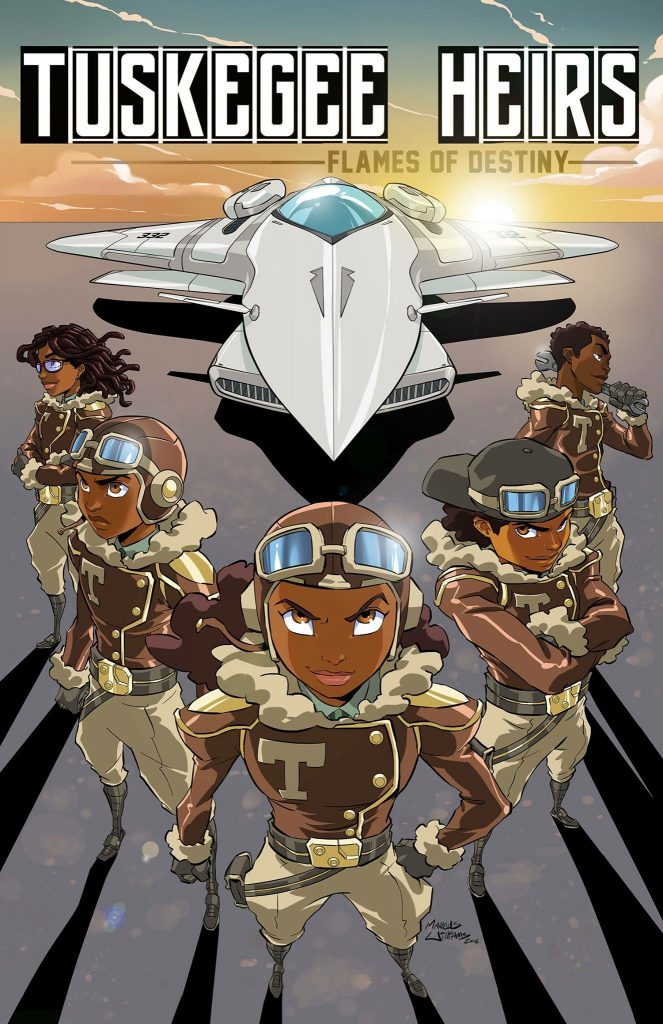 tuskegee heirs comic book