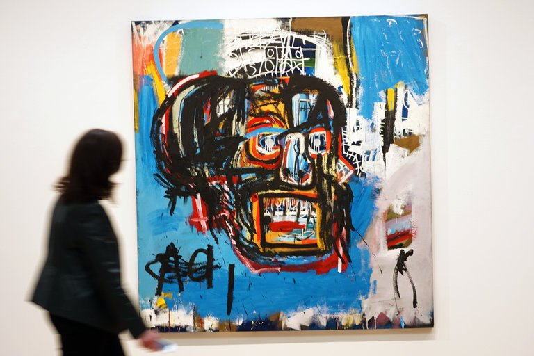 Basquiat record selling painting