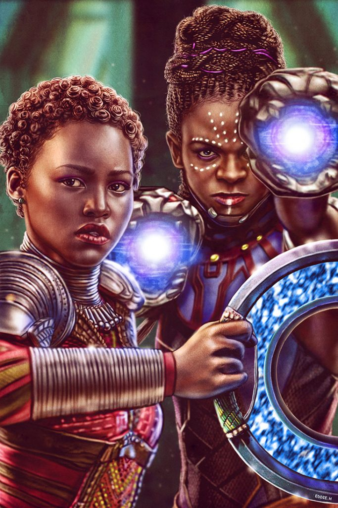 eddie holly art creators for the culture black panther 2