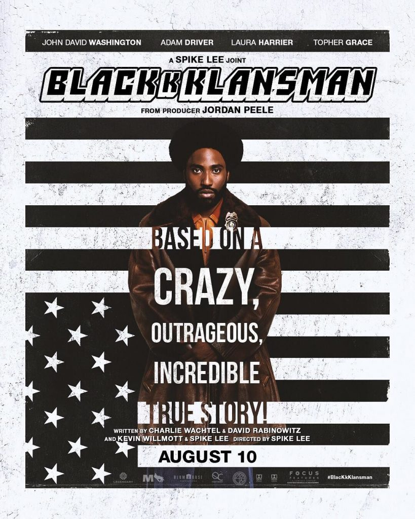 spike lee is back with blackkklansman