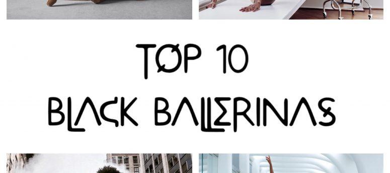 top 10 black ballerinas