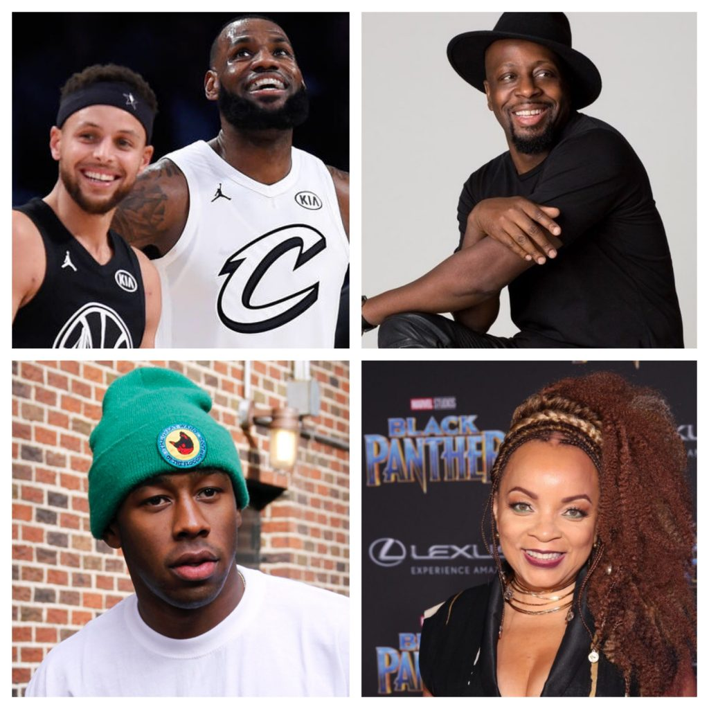 quick hits news lebron, curry, tyler, wyclef
