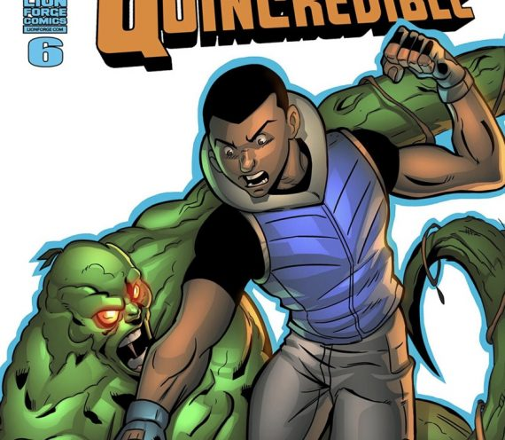 THE FEAT. – Quincredible Comic Book