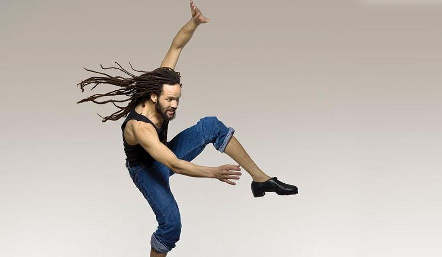 savion glover top black choreographer