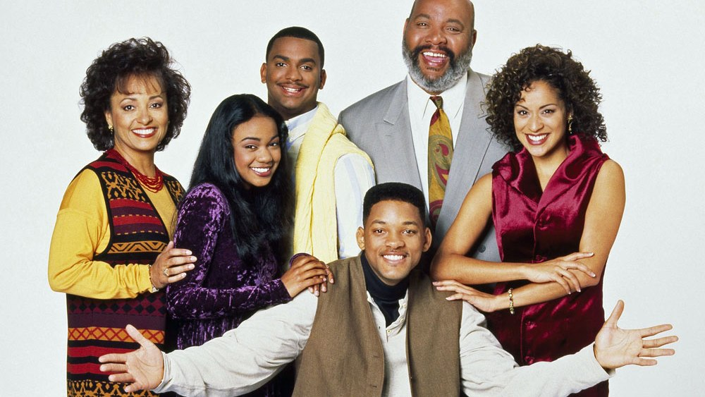 Fresh Prince of Bel Air Classic Black TV