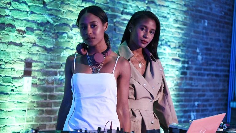 angel and dren black female DJ