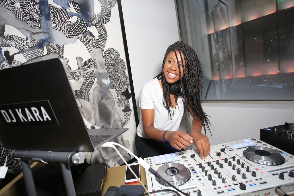 dj kara black female DJ