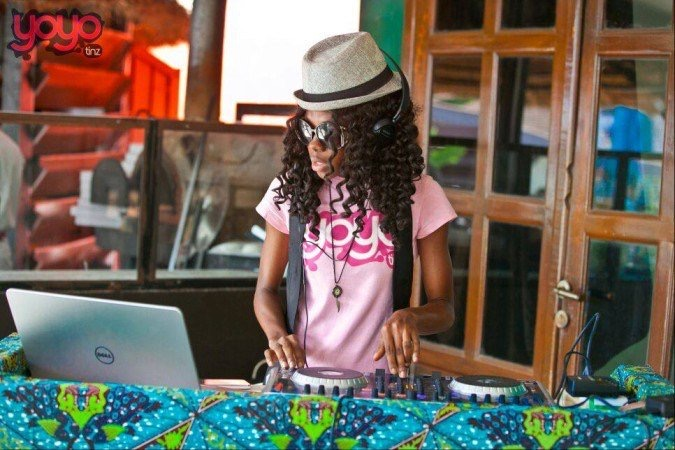 dj keyzzz black female DJ