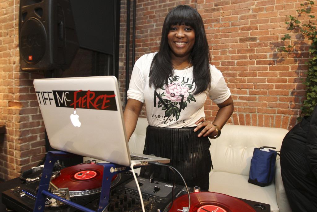 tiff mcfierce black female DJ