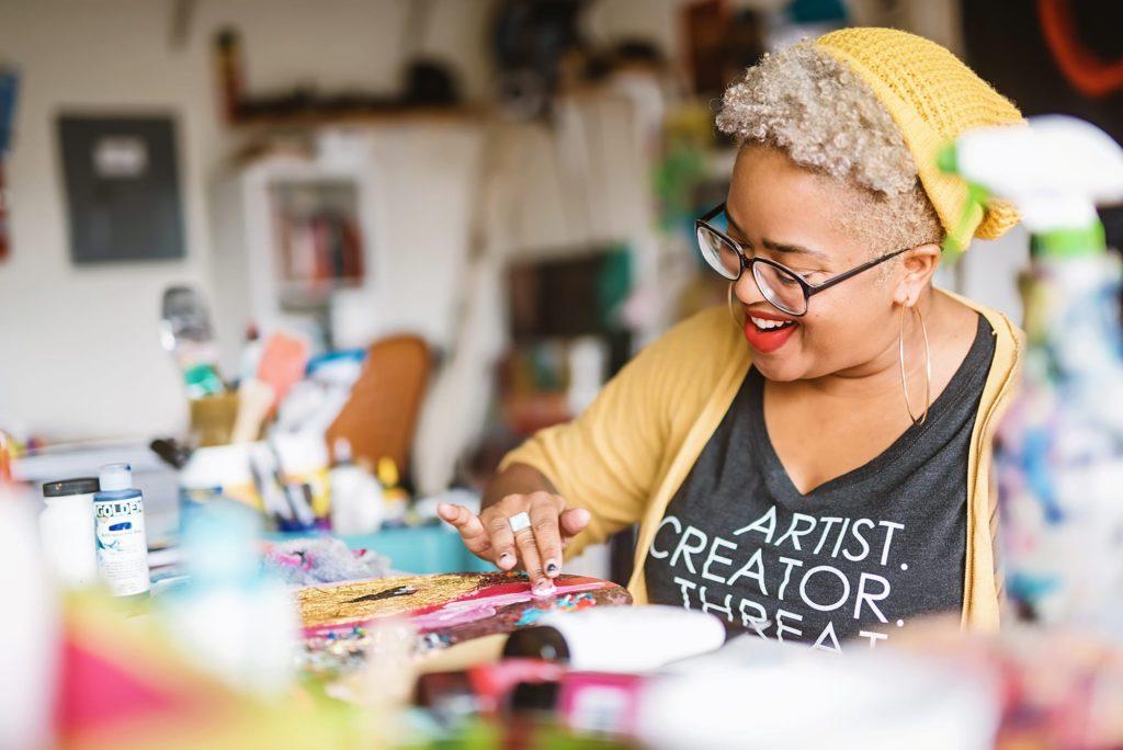 top black painters addye nieves