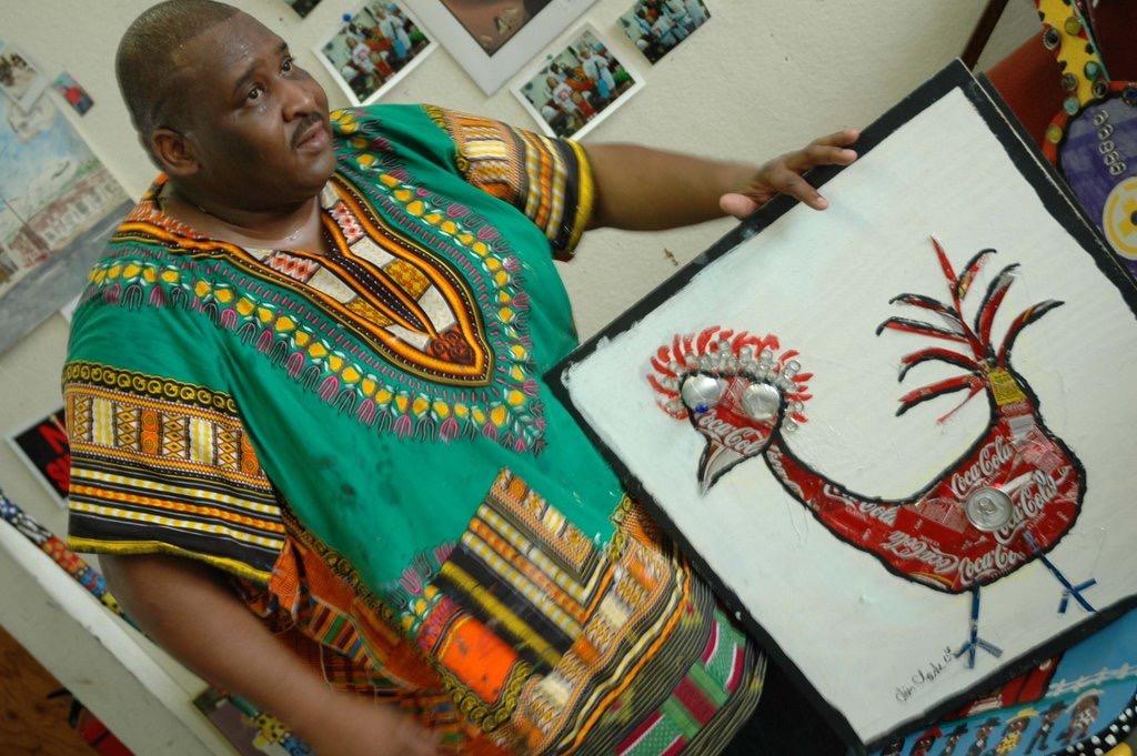 chris clark famous black painter