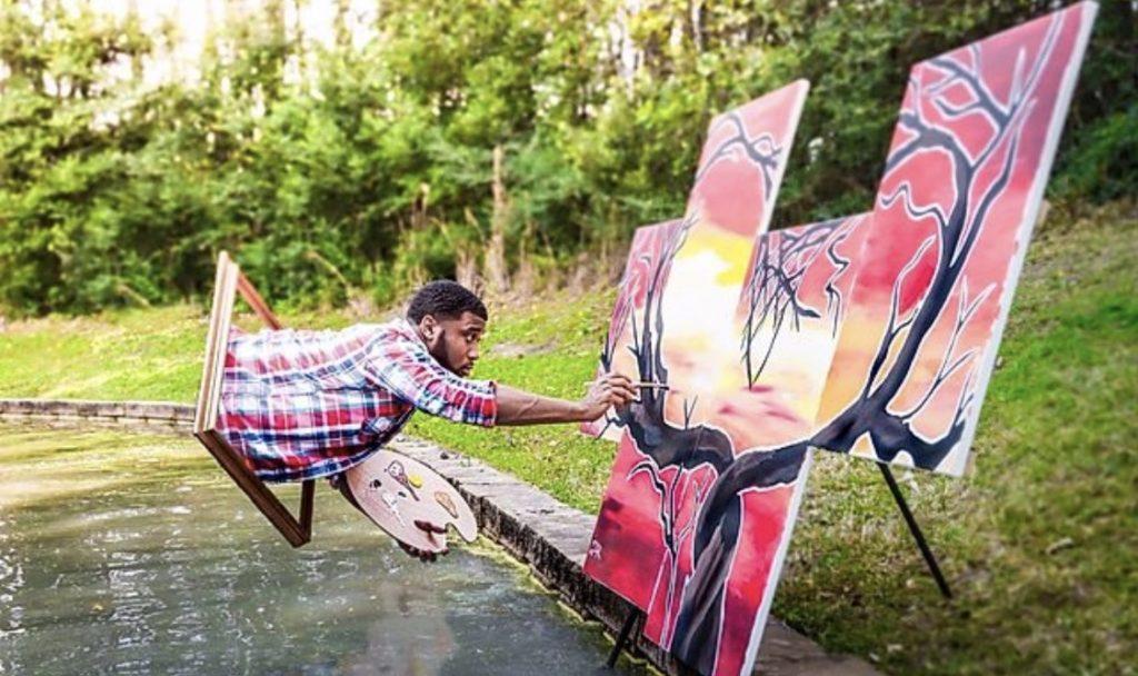 devote giovanni rhea black painter