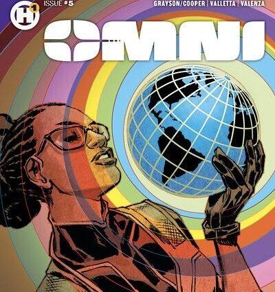 "THE FEAT. – Black Comic Book ""Omni"""