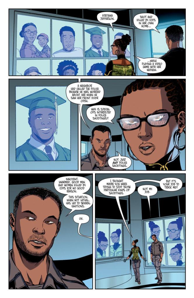 black comic book omni