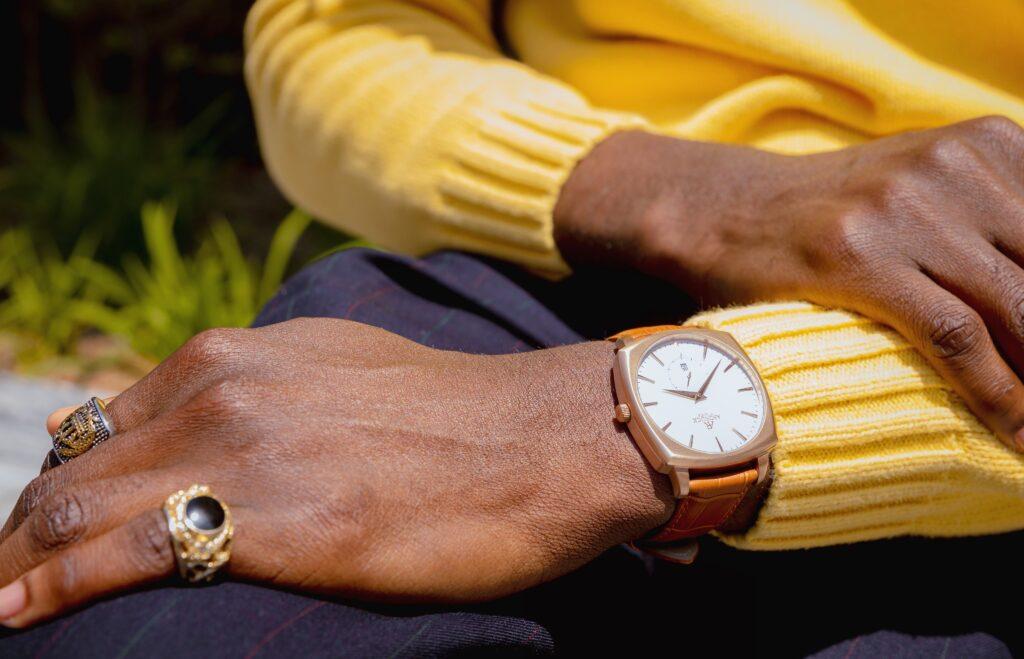aso rock watch black owned watch company